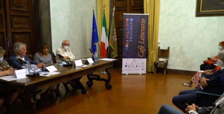 Presentata 'Isola del libro Trasimeno', uno sguardo 'Avanti Covid – dopo Covid'