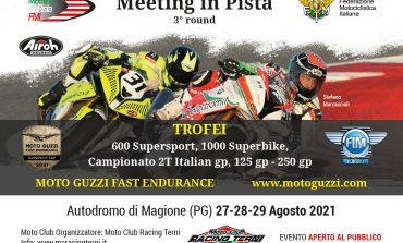 Meeting in  pista, tornano le moto vintage all'Autodromo dell'Umbria