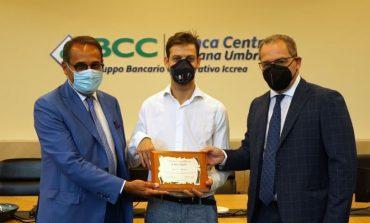 All'atleta paralimpico Matteo Betti il premio eccellenze di Banca Centro