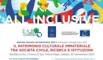 Giornate europee del patrimonio, gli eventi di Faro Trasimeno in Umbria