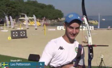 Sport, Matteo Seghetta medaglia d'oro agli Europei di tiro con l'arco