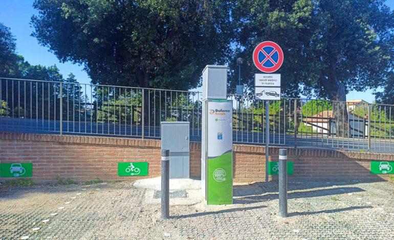 Veicoli elettrici, Città della Pieve più green con la prima postazione di ricarica