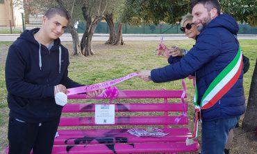 """Inaugurata la """"Panchina Rosa"""" nella prima giornata TSM"""